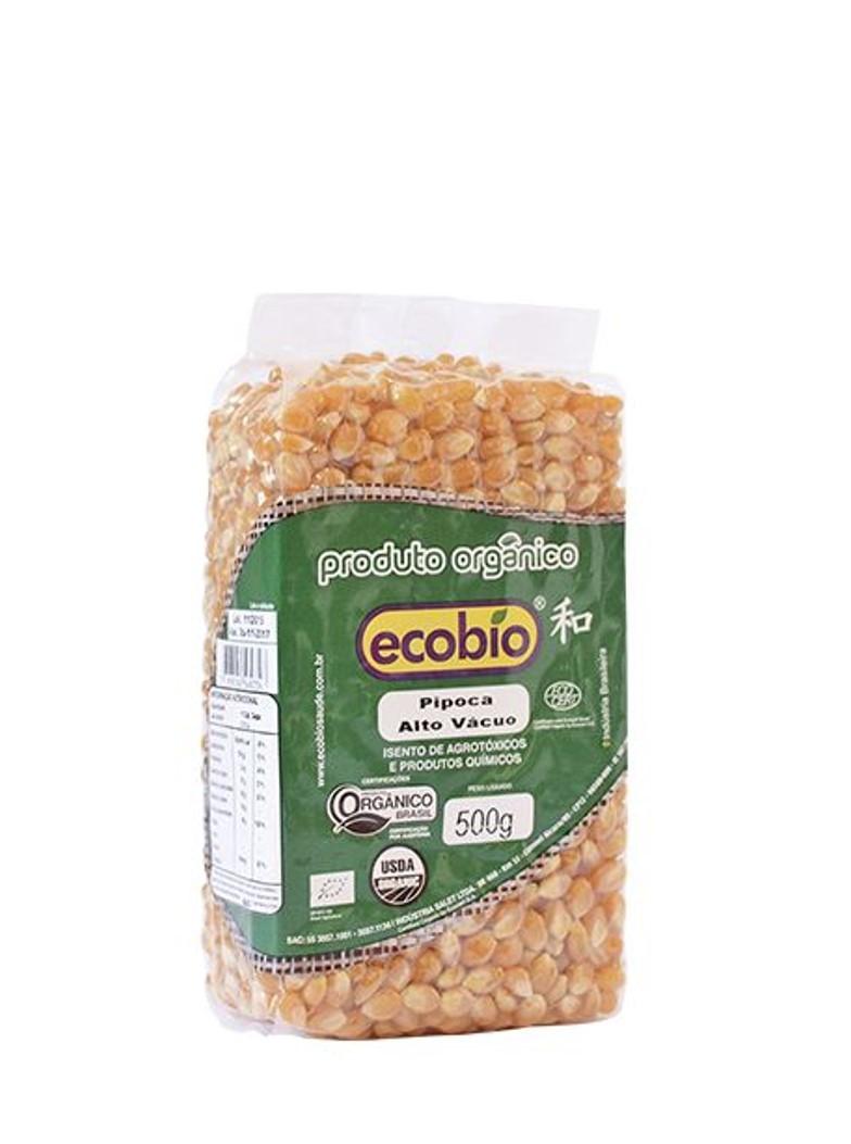 Milho p/ Pipoca (500g) – Ecobio