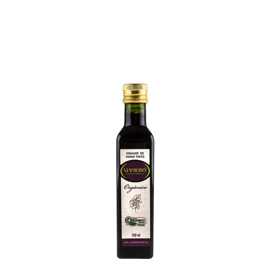 Vinagre de Vinho Tinto (250ml) – Uva'só