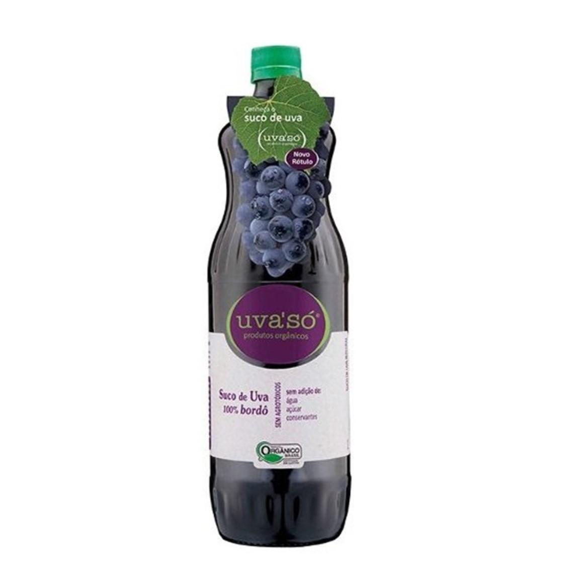 Suco de Uva Bordô (1L) – Uva'só