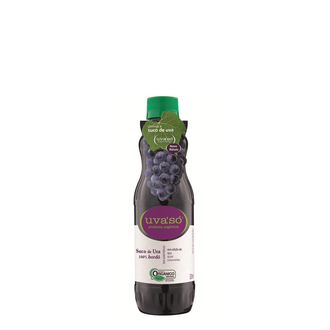 Suco de Uva Bordô (300ml) – Uva'só