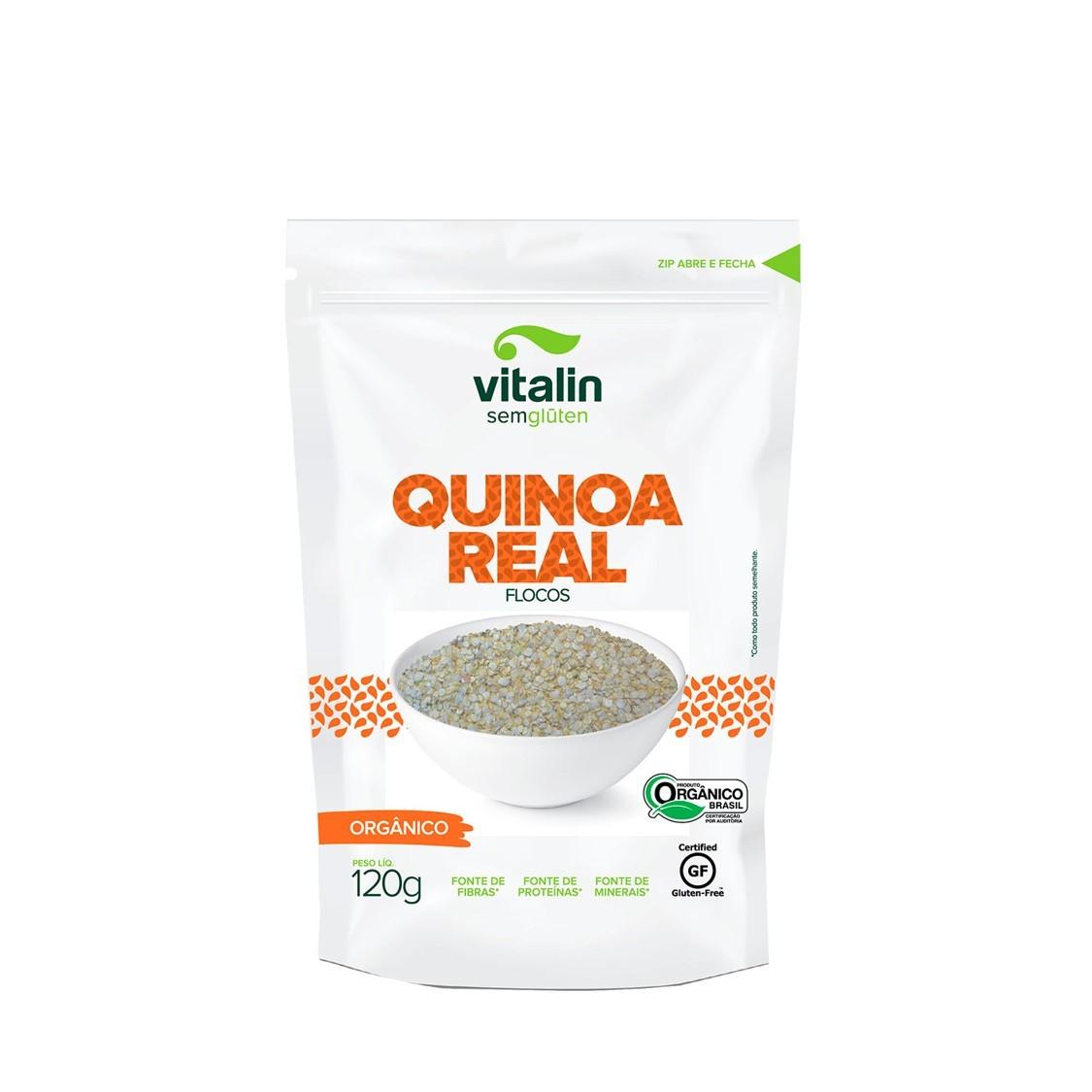 Quinoa em Flocos (120g) – Vitalin