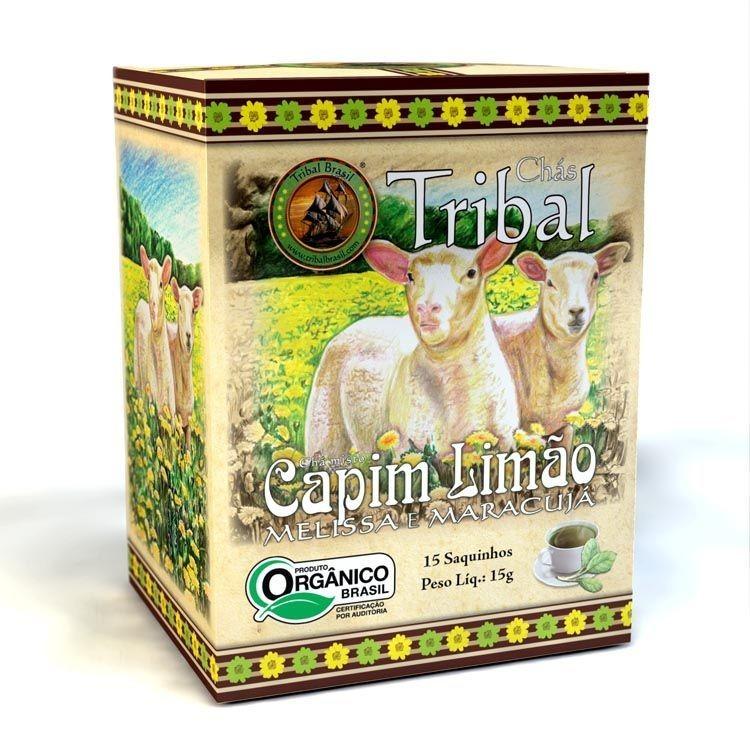 Chá Capim Limão, Melissa e Maracujá (c/ 15 sachês) – Tribal Brasil