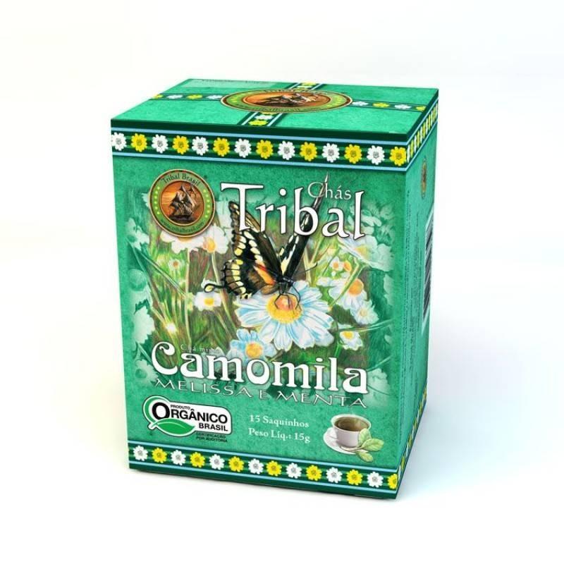 Chá Camomila, Melissa e Menta (c/ 15 sachês) – Tribal Brasil