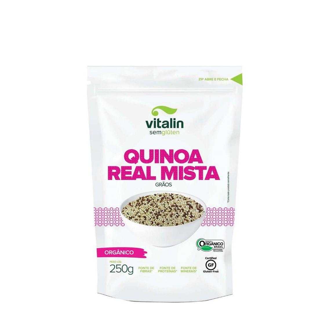 Quinoa Mista em Grãos (250g) – Vitalin