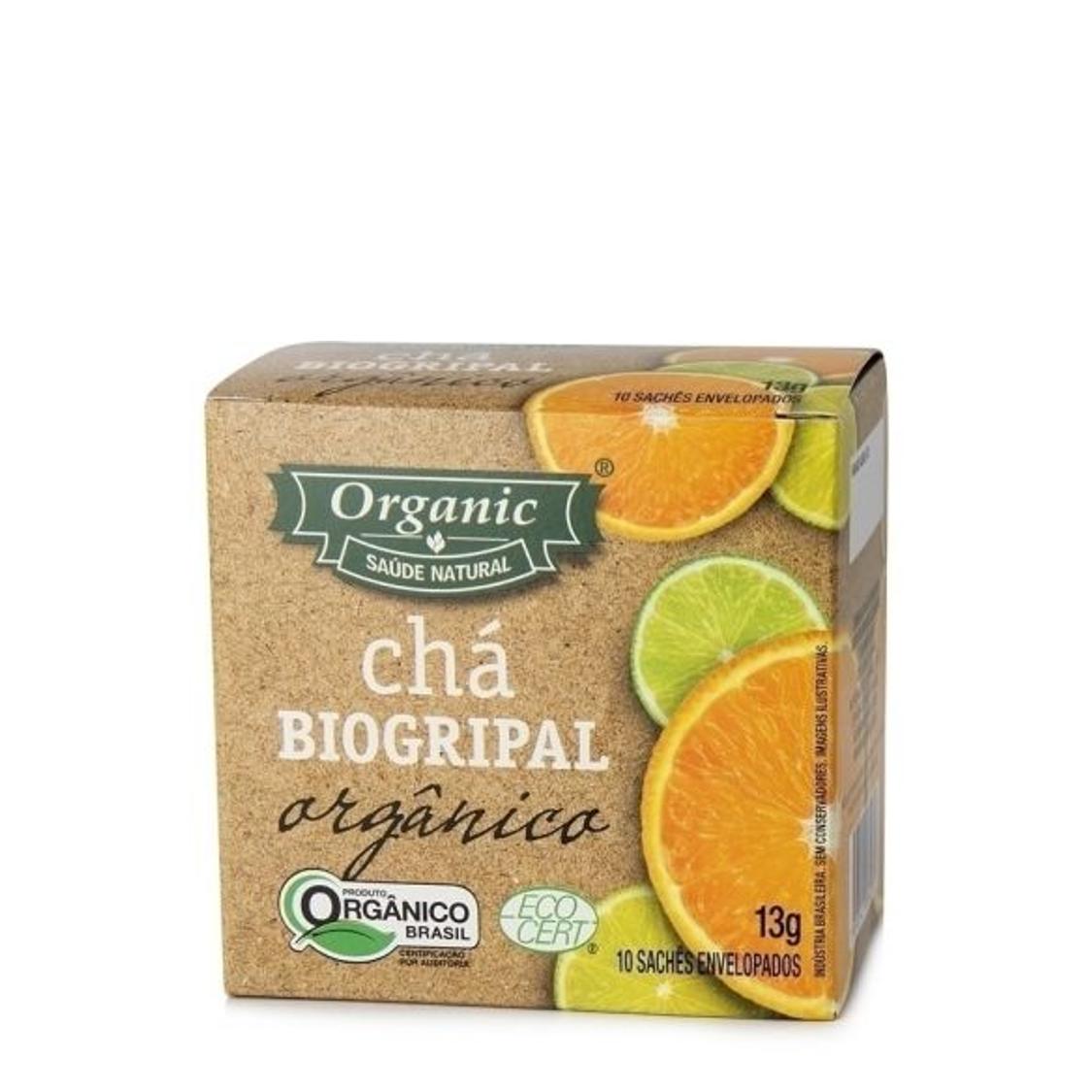 Chá Biogripal – Com 10 sachês – Organic