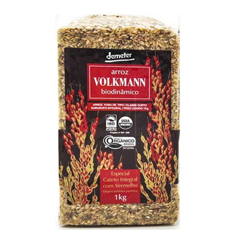 Arroz Cateto Integral c/ Vermelho (1kg) – Volkmann