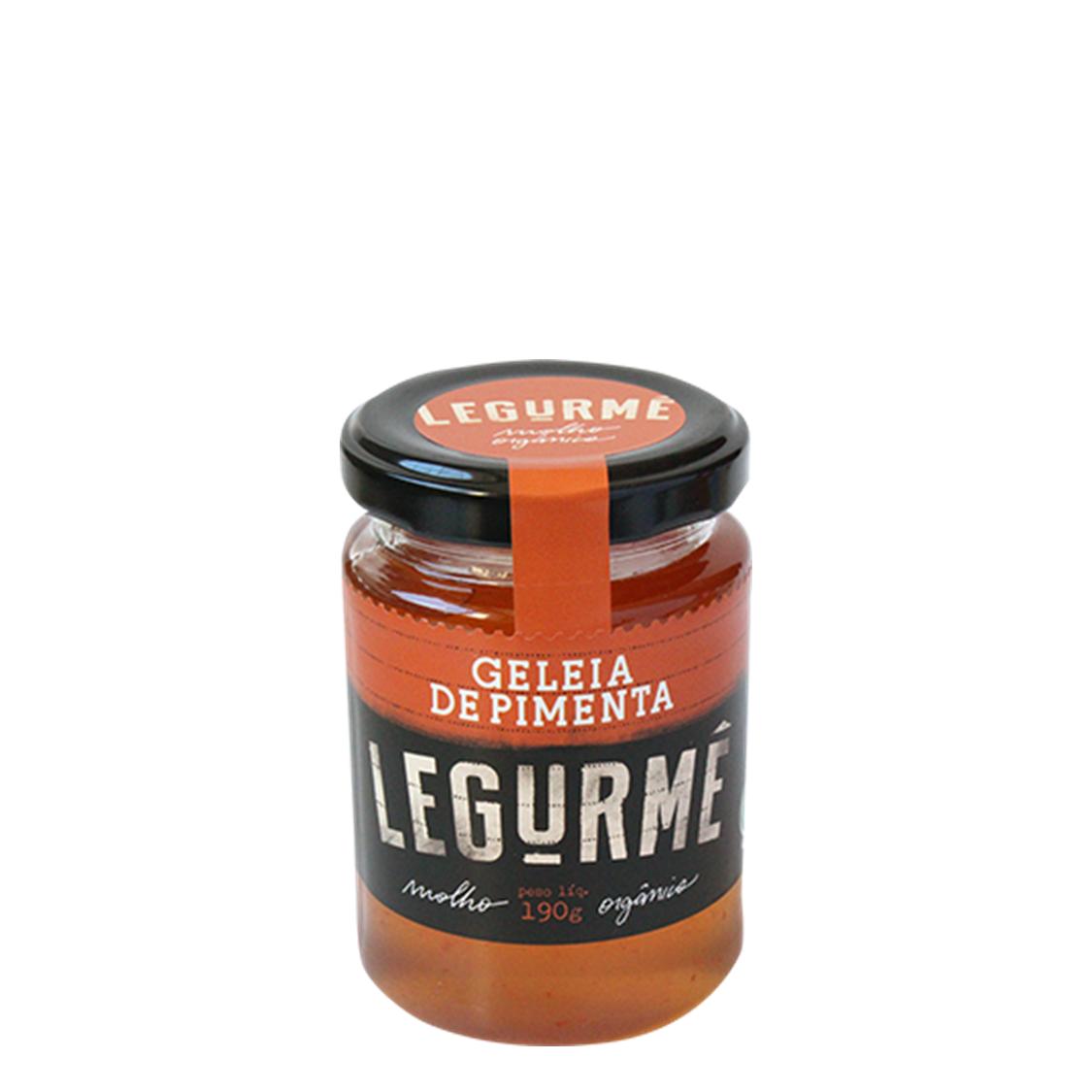Geleia de Pimenta (190g) – Legurmê