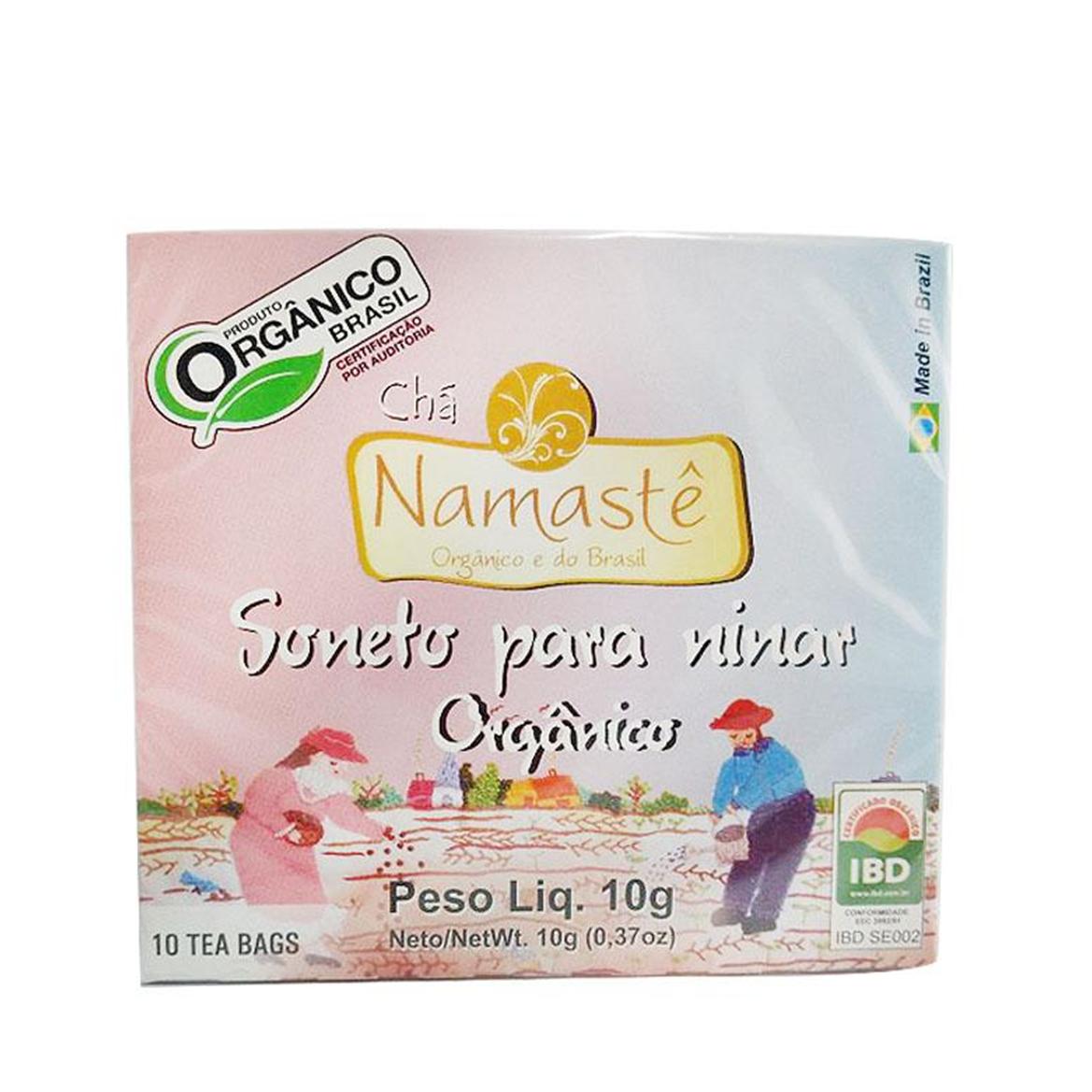 Chá Soneto p/ Ninar (c/ 10 sachês) – Namastê