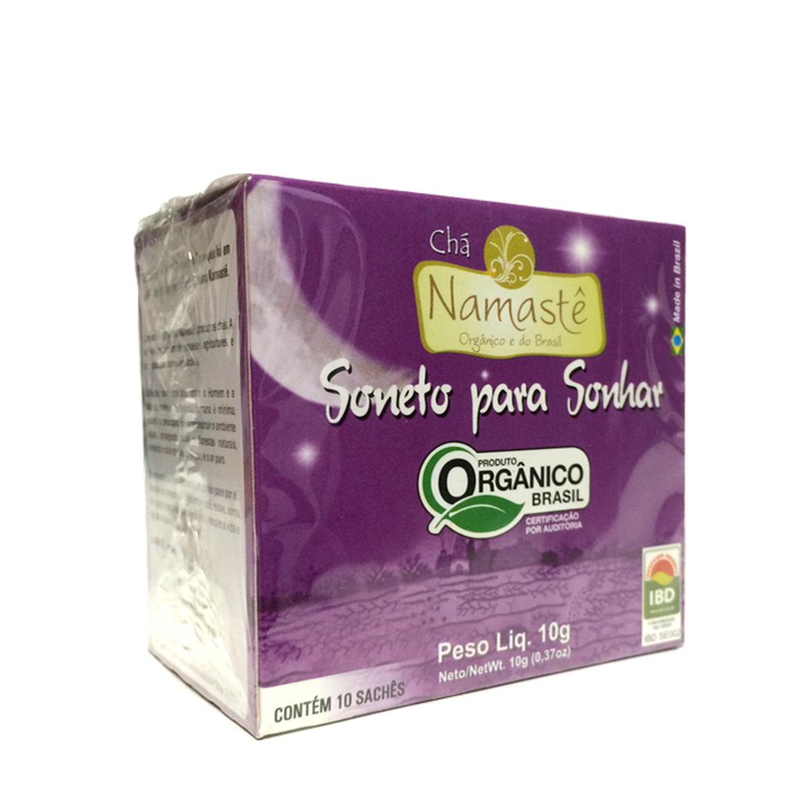 Chá Soneto p/ Sonhar (c/ 10 sachês) – Namastê