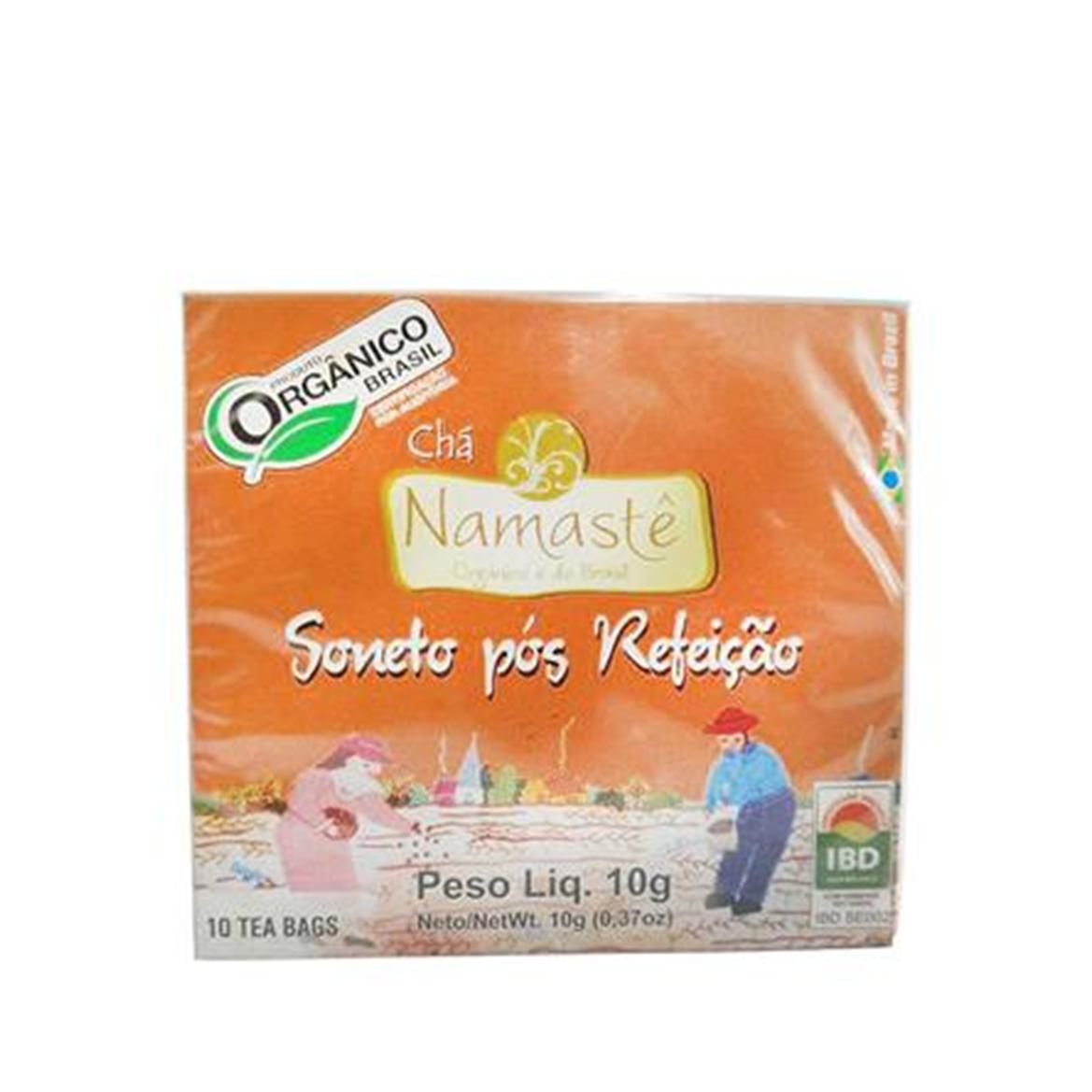 Chá Soneto Pós Refeição (c/ 10 sachês) – Namastê