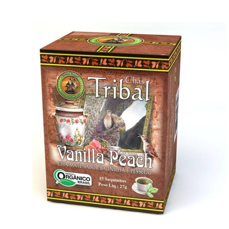 Chá Vanilla Peach (c/ 15 sachês) – Tribal Brasil