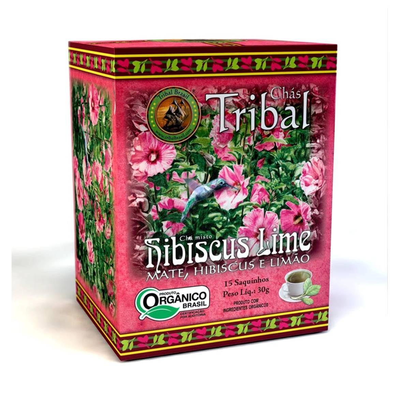 Chá Hibiscus Lime (c/ 15 sachês) – Tribal Brasil