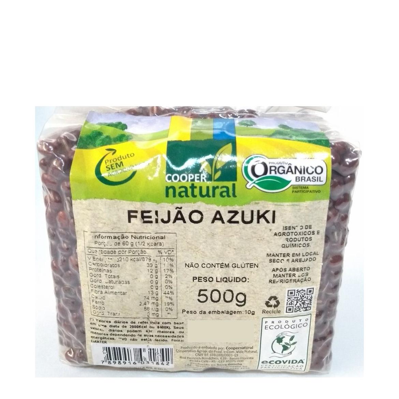 Feijão Azuki (500g) – Coopernatural