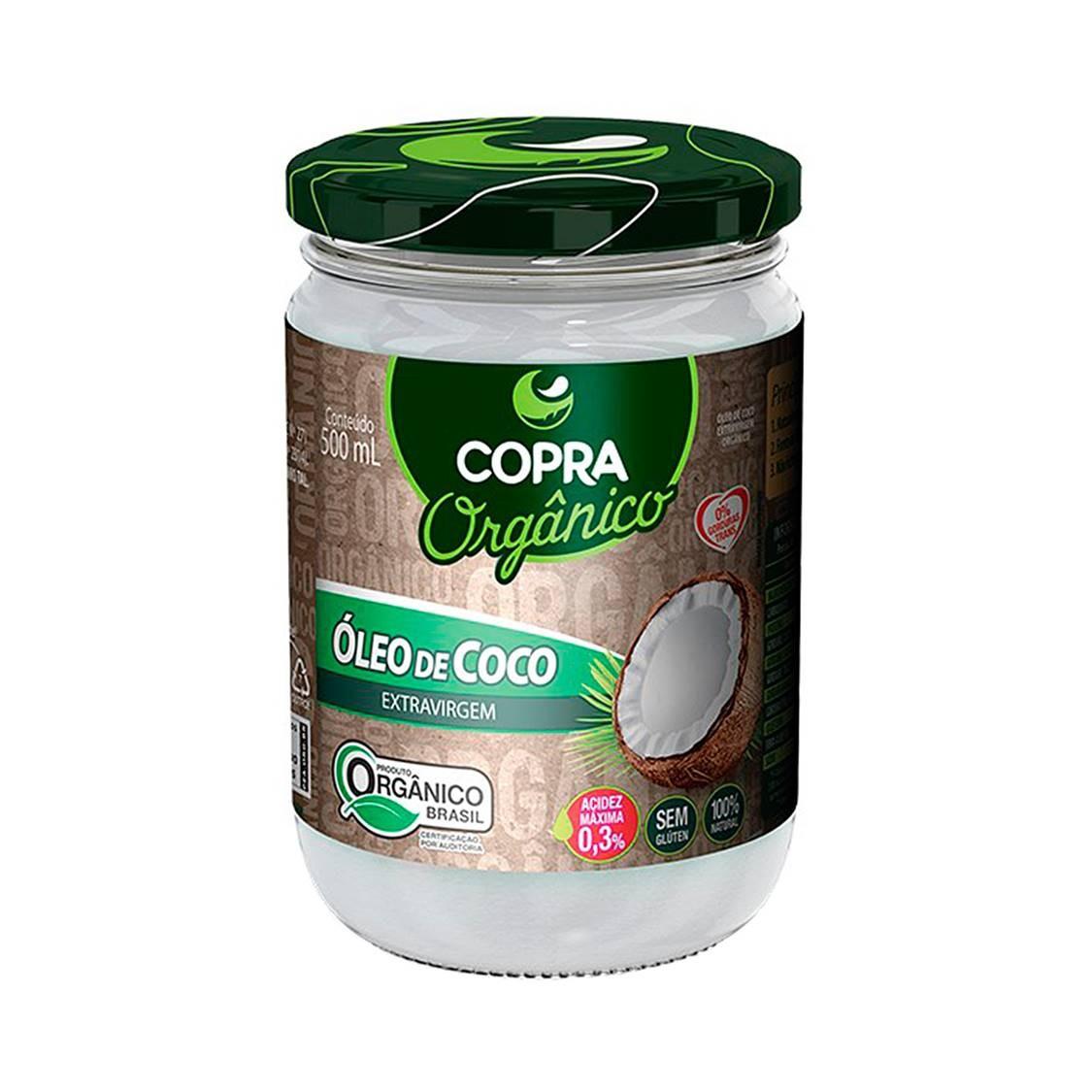Óleo de Coco (500ml) – Copra