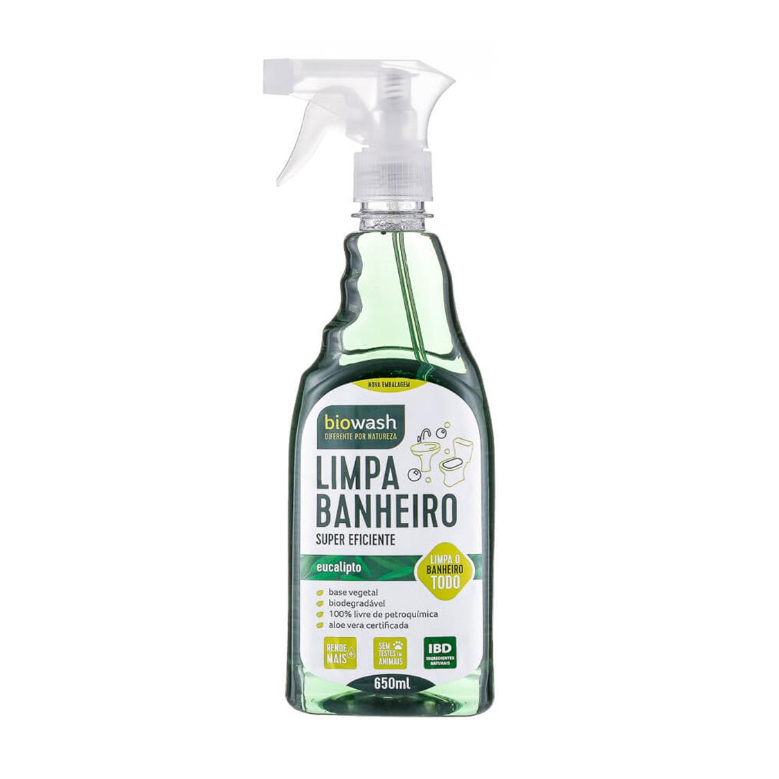 Limpa Banheiro (650ml) – Biowash