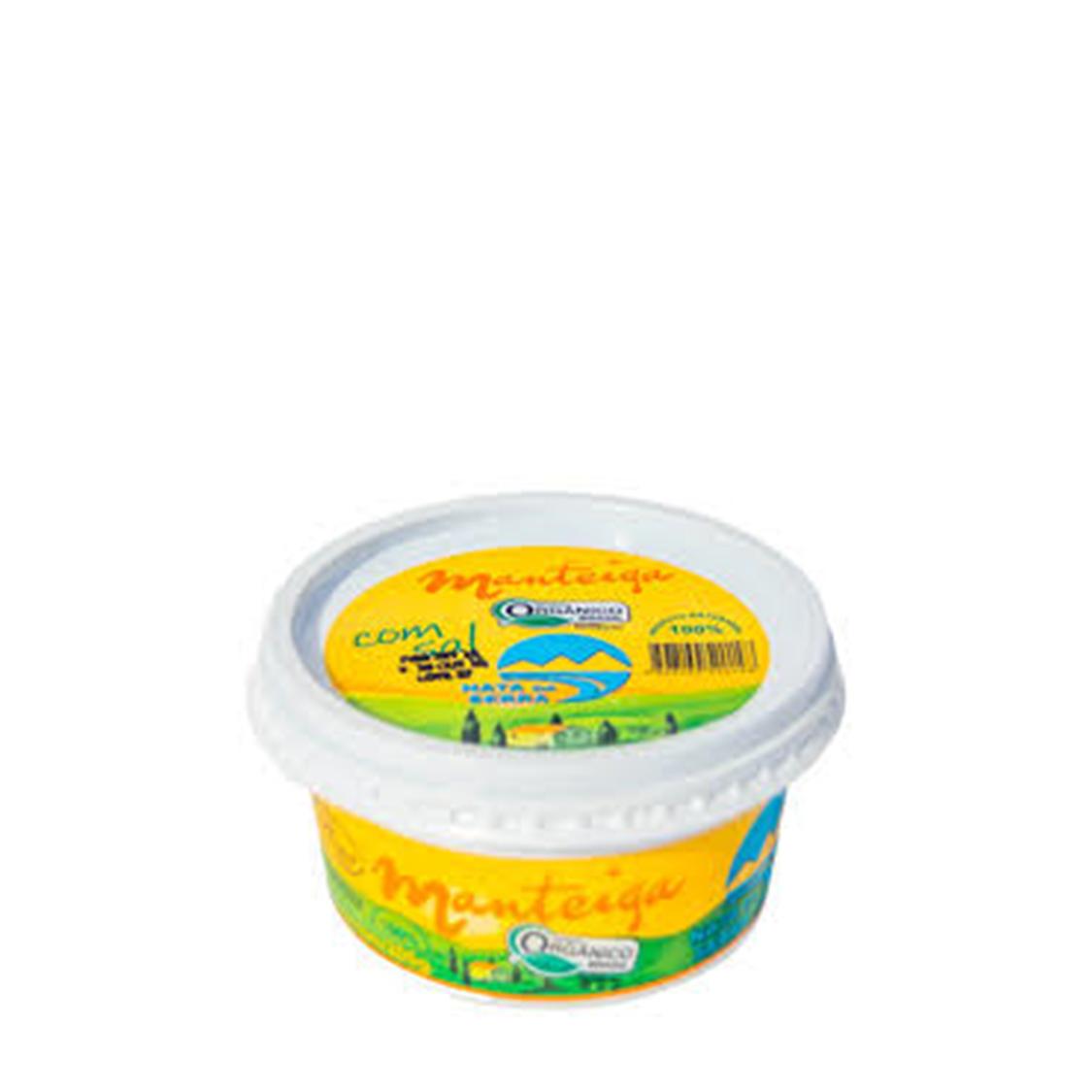 Manteiga com Sal (200g) – Nata da Serra