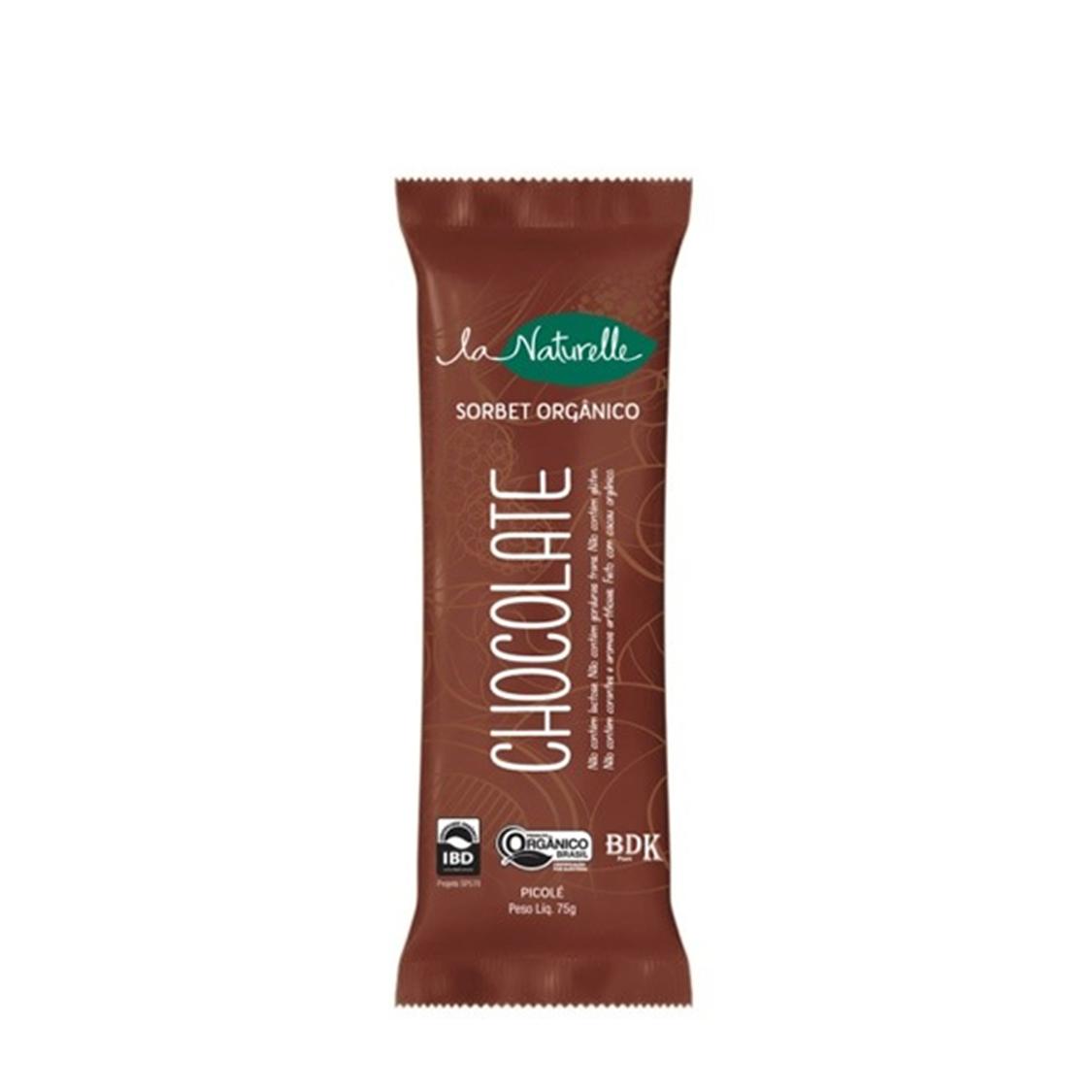 Picolé de Chocolate (75g) – La Naturelle