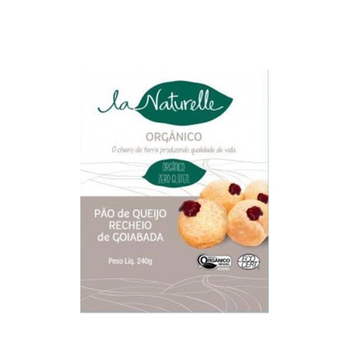 Pão de Queijo c/ Goiabada (240g) – La Naturelle