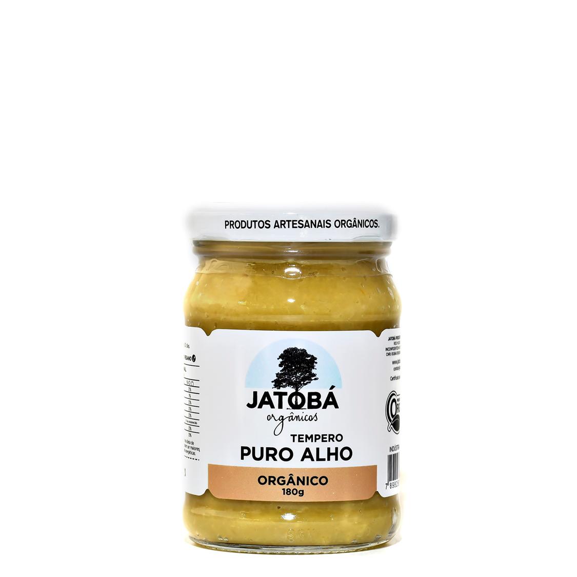Tempero Puro Alho (170g) – Jatobá