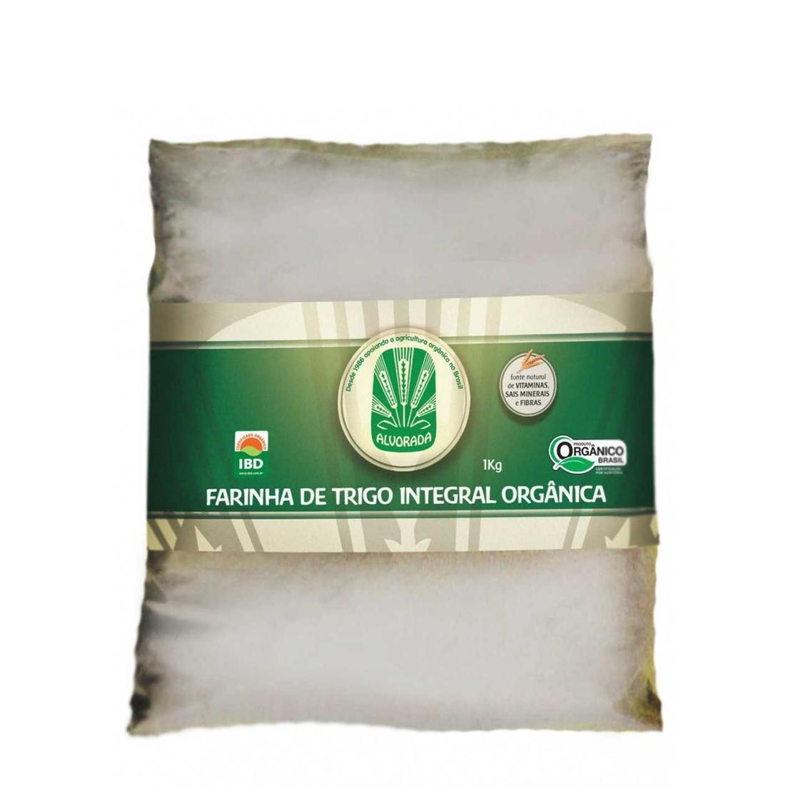Farinha de Trigo Integral (1Kg) – Alvorada