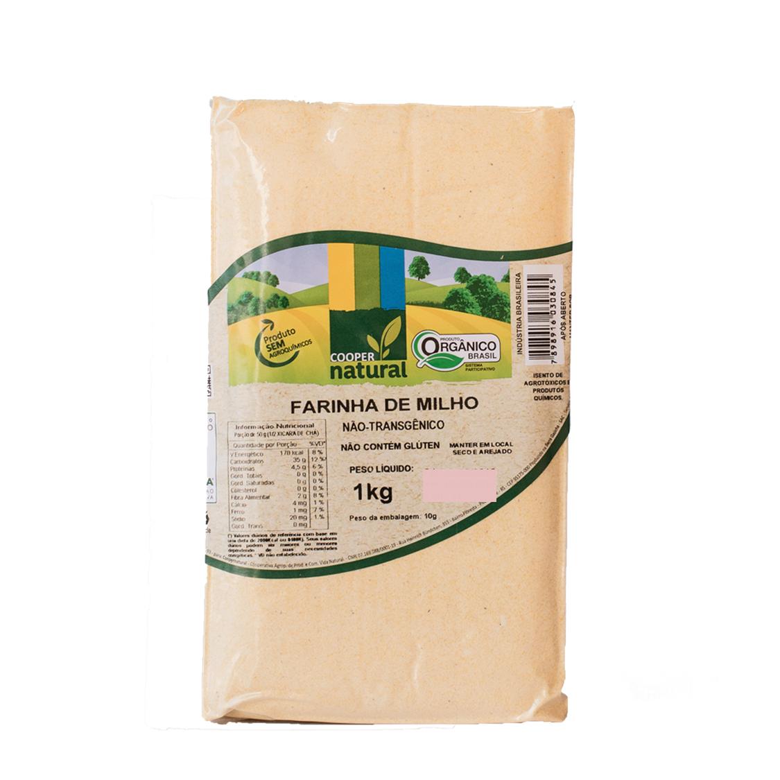 Farinha de Milho (1kg) – Coopernatural