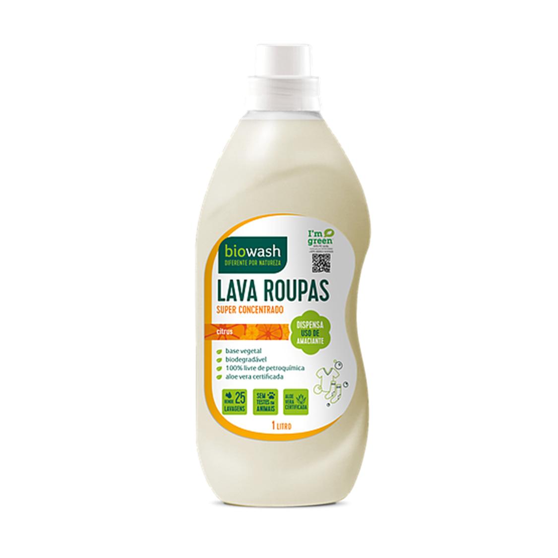 Lava Roupas Citrus (1L) – Biowash