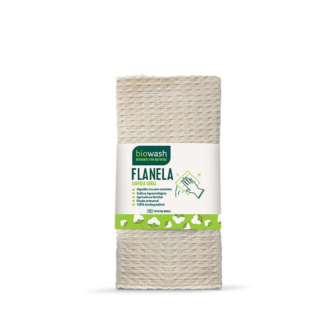 Flanela de Algodão (1un) – Biowash