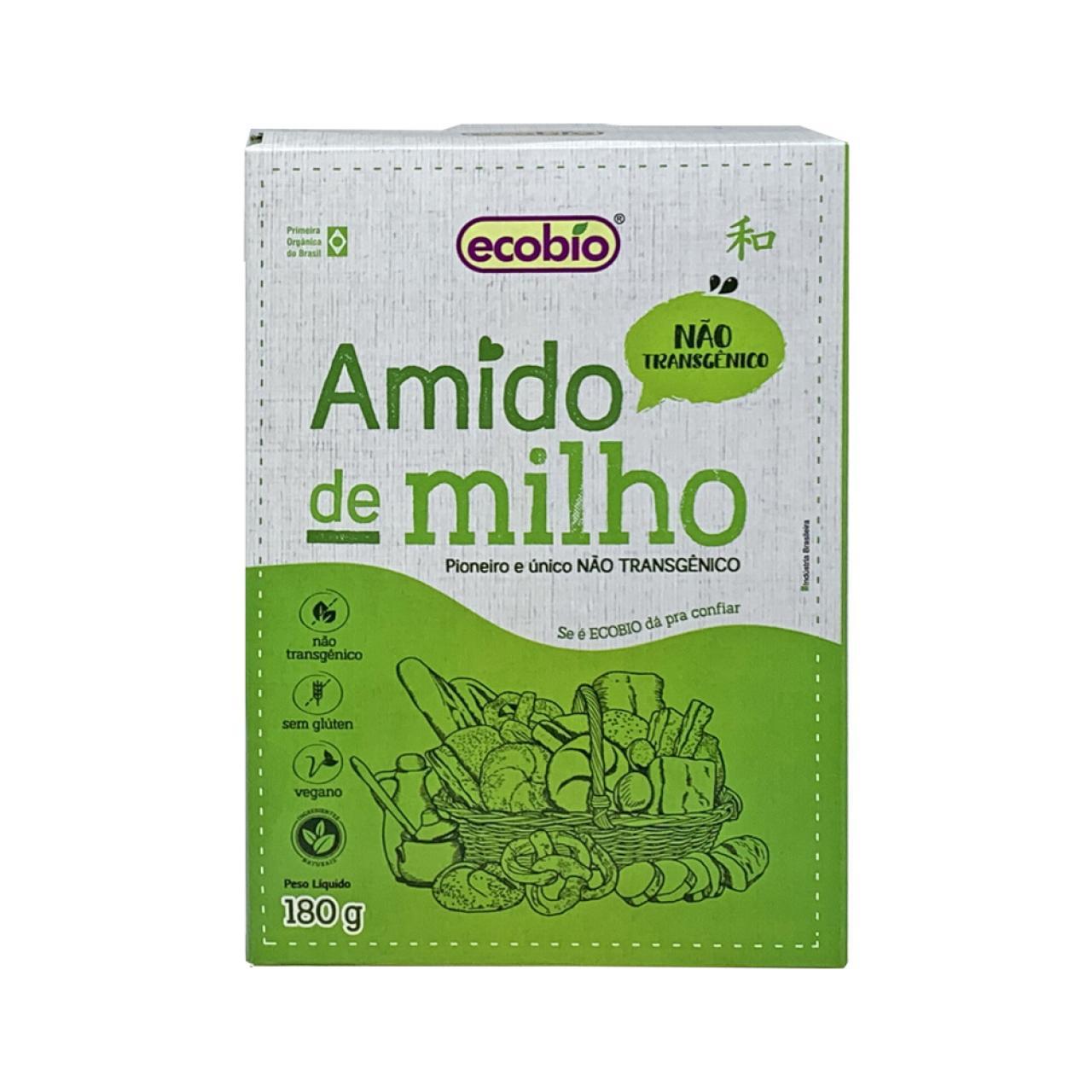 Amido de Milho (180g) – Ecobio