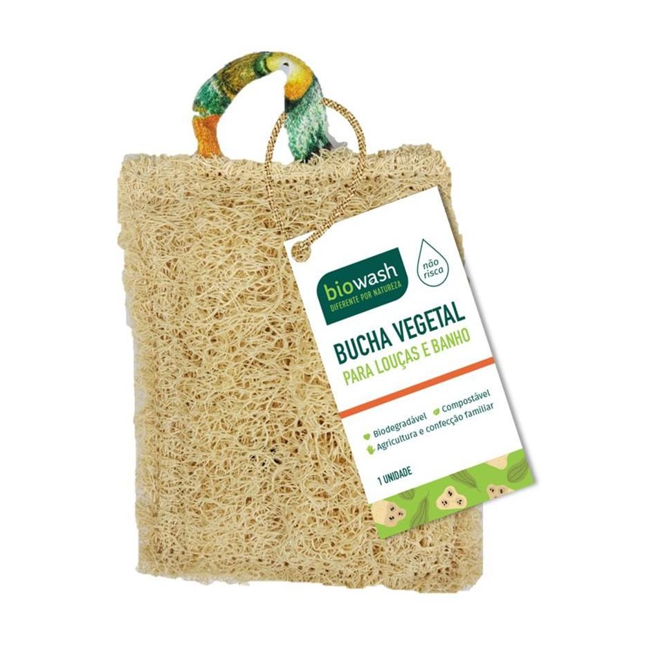 Bucha Vegetal (1un) – Biowash