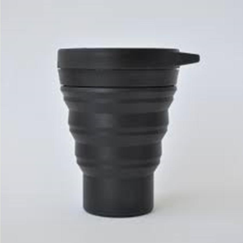 Copo Sustentável Preto – Menos1Lixo