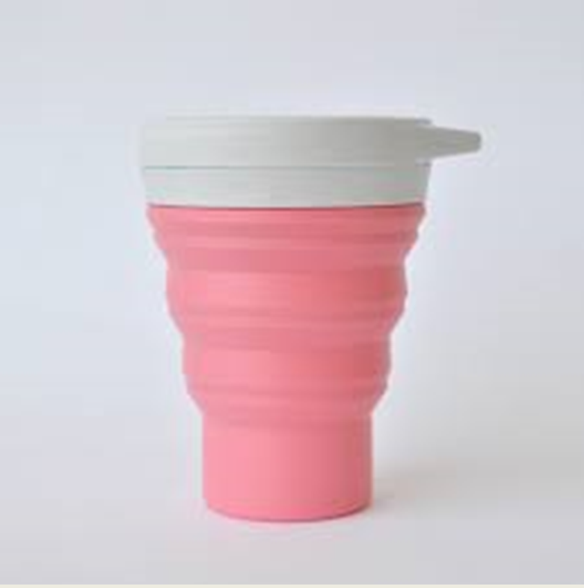 Copo Sustentável Rosa – Menos1Lixo