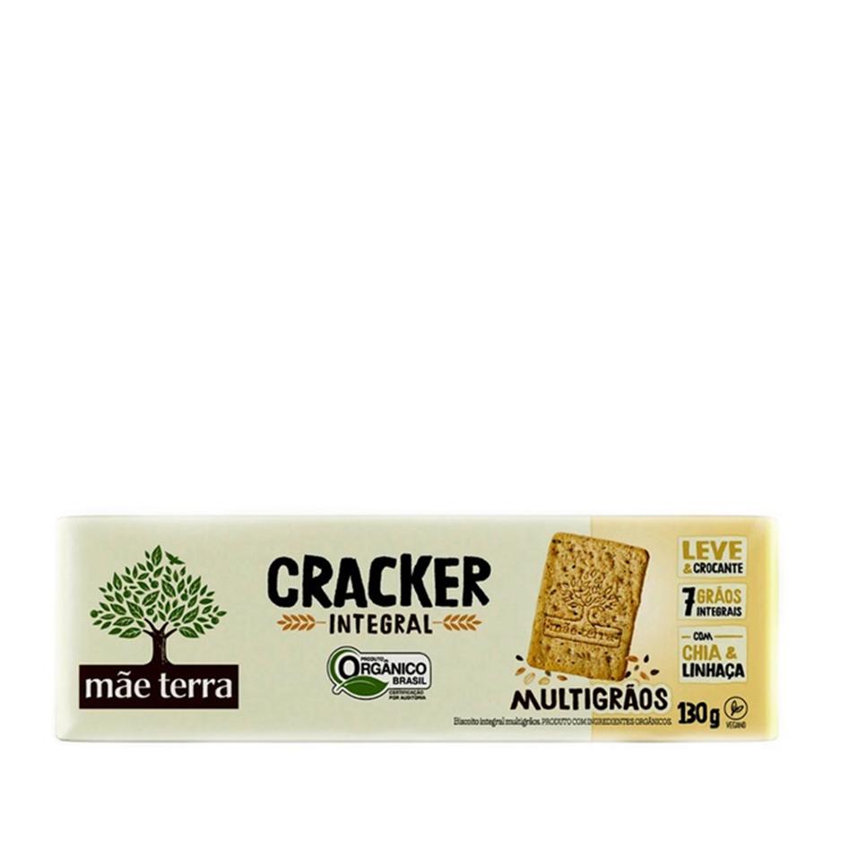 Cracker Multigrãos (130g) – Mãe Terra