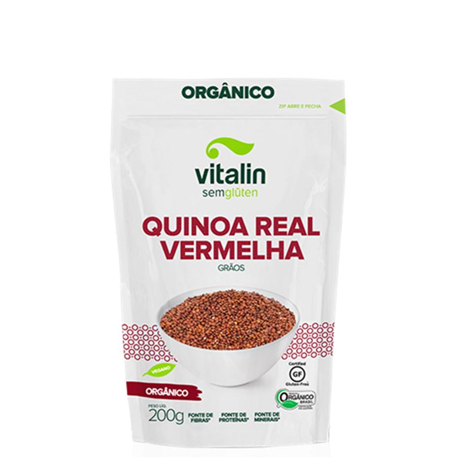 Quinoa Vermelha em Grãos (300g) – Vitalin