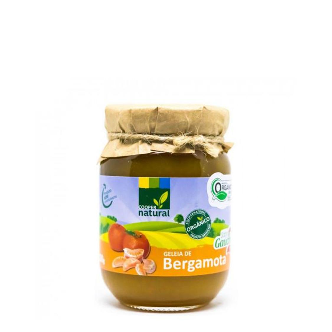 Geleia de Bergamota – 300g – Coopernatural