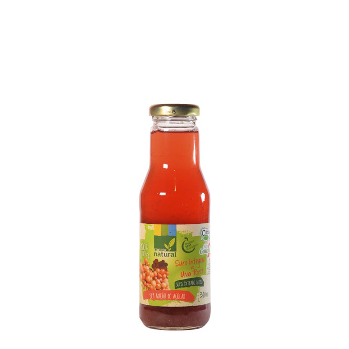 Suco de Uva Rosé – 300ml – Coopernatural