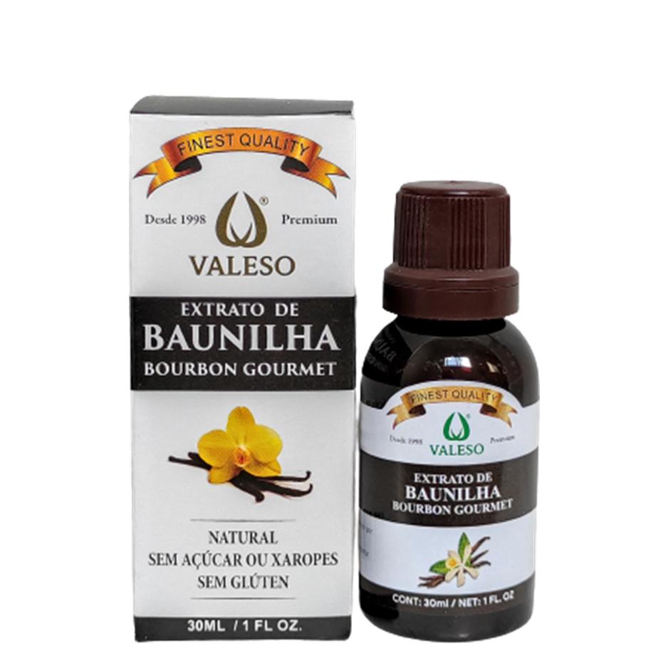 Extrato de Baunilha Natural (30ml) – Valeso