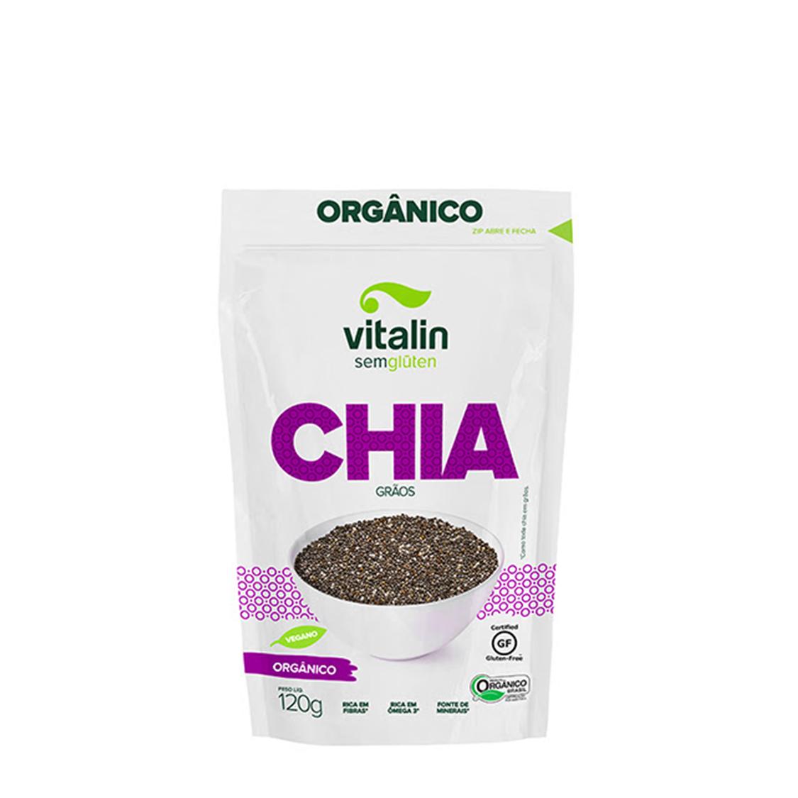 Chia – 120g – Vitalin